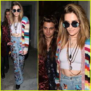 Paris Jackson Steps Out for Kathy Hilton's Birthday Dinner in Beverly Hills