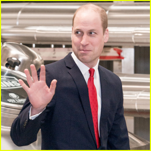 Prince William Takes Tour of New Brains Dragon Brewery in Wales
