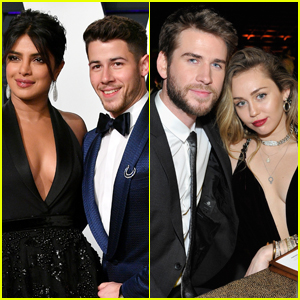 Priyanka Chopra & Nick Jonas Want to Double Date with Miley Cyrus & Liam Hemsworth! (VIDEO)