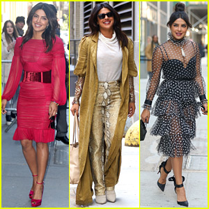 Priyanka Chopra Wows in Three Looks for Her NYC Press Day