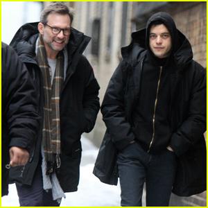 Rami Malek & Christian Slater Get to Work on Final 'Mr. Robot' Season