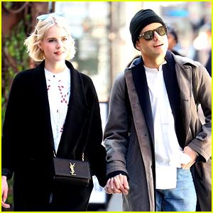 Rami Malek & Lucy Boynton Couple Up for NYC Stroll