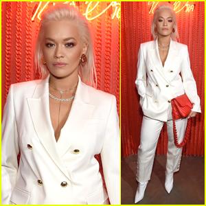 Rita Ora Launches Her Escada Handbag Collection in NYC!