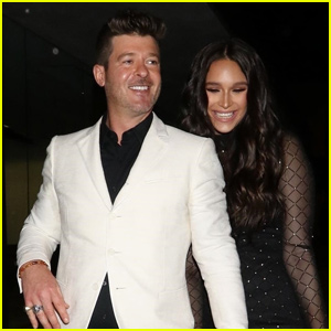 Robin Thicke Celebrates His Birthday With April Love Geary After Welcoming Second Child