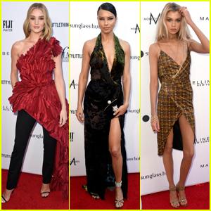 Rosie Huntington-Whiteley, Adriana Lima, & Stella Maxwell Go Glam for Daily Front Row Fashion Awards 2019