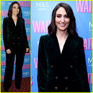 Sara Bareilles Attends Opening Night of 'Waitress' in London!