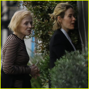 Sarah Paulson & Holland Taylor Step Out for Date Night in L.A.