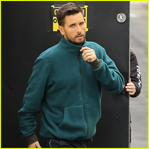 Scott Disick Spends Another Day at the Studio