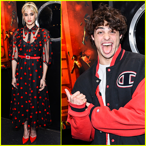Sofia Boutella Gets Support From Noah Centineo at 'Climax' Screening