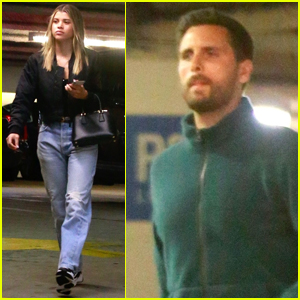 Sofia Richie & Scott Disick Hit Up Barneys in Beverly Hills