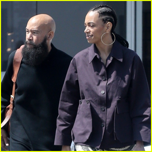 Solange Knowles & Husband Alan Ferguson Step Out for Lunch in L.A.