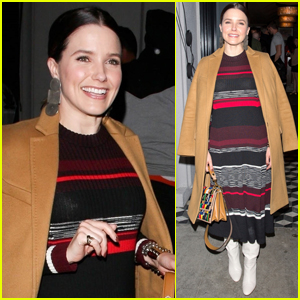 Sophia Bush Meets Up with Friends at Craig's in WeHo