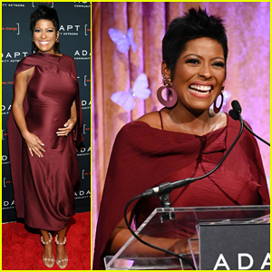 Tamron Hall Debuts Baby Bump at ADAPT Leadership Awards 2019!