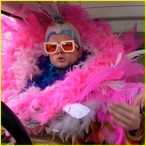 Taron Egerton Got 'Blind Drunk' with Richard Madden the Night Before Their 'Carpool Karaoke'