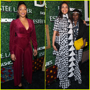 Tiffany Haddish & Rosario Dawson Step Out for The Diaspora Dialogues