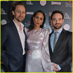 Tom Hiddleston, Zawe Ashton, & Charlie Cox Step Out for 'Betrayal' Press Night