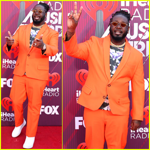 T-Pain Arrives at iHeartRadio Music Awards Ahead of Hosting Duties