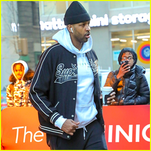 Tristan Thompson Heads to His Basketball Game in Brooklyn