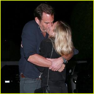 Will Arnett Kisses Girlfriend Elizabeth Law After Dinner Date
