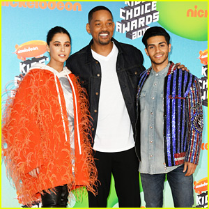 Will Smith Joins 'Aladdin' Co-Stars at Kids' Choice Awards 2019!