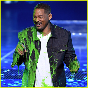 Will Smith Gets Slimed, Grants Wishes with 'Aladdin' Stars at KCAs 2019!
