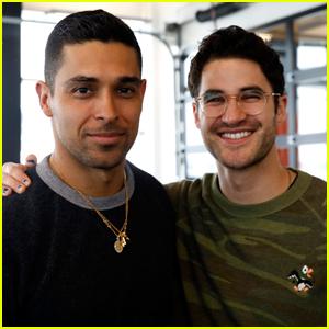 Wilmer Valderrama & Darren Criss Show Their Support at Operation Smile Ski Trip