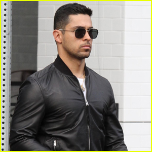Wilmer Valderrama Stops by Joan's on Third for Lunch