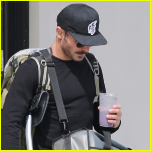 Zac Efron Heads to Physical Therapy After Recently Tearing ACL