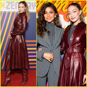 Zendaya is Supported by Gigi Hadid at Tommy Hilfiger Fashion Show!