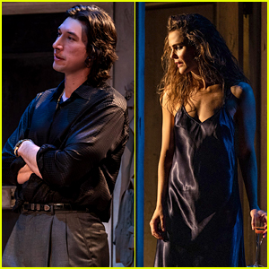 Adam Driver & Keri Russell in Broadway's 'Burn This' - First Look Photos!