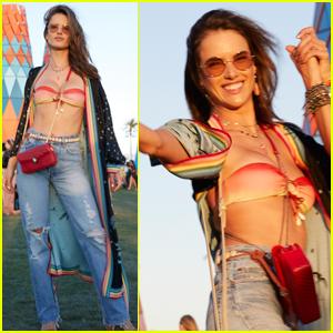 Alessandra Ambrosio Celebrates Her Birthday at Coachella!