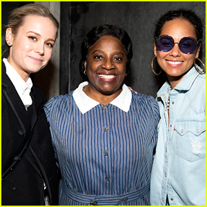 Alicia Keys & Brie Larson Check Out 'To Kill a Mockingbird' on Broadway!