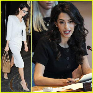 Amal Clooney Challenges UN Security Council to 'Stand on The Right Side of History'