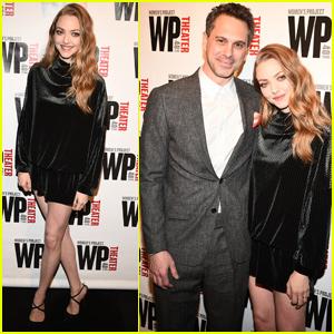 Amanda Seyfried Couples Up With Husband Thomas Sadoski at WP Theater's Anniversary Gala