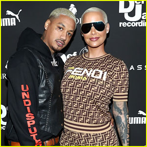 Amber Rose Pregnant, Expecting First Child With Boyfriend Alexander Edwards!