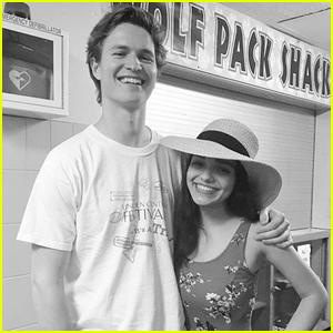 Ansel Elgort Surprises 'West Side Story' Co-Star Rachel Zegler at Her High School Musical!