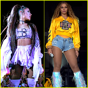 Ariana Grande & Beyonce Made the Same Amount for Headlining Coachella Performances (Report)