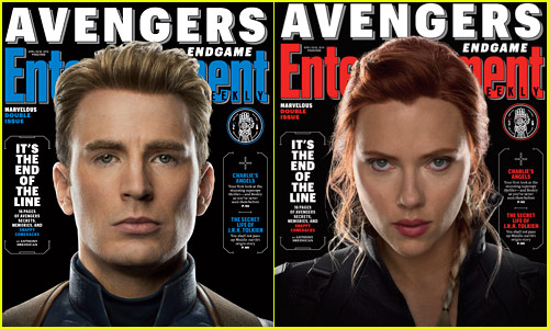 'Avengers' Featured on EW's Six New Covers!