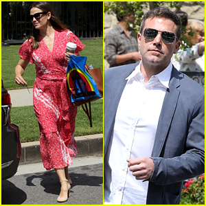 Ben Affleck & Jennifer Garner Attend Easter Sunday Church Service Together