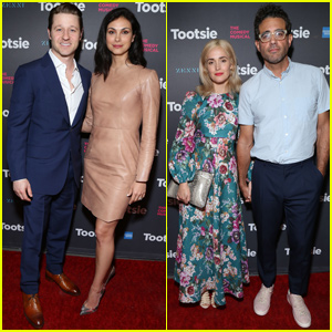 Ben McKenzie & Morena Baccarin Join Rose Byrne & Bobby Cannavale at 'Tootsie' Opening