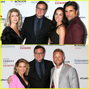 Bob Saget, John Stamos & Candace Cameron-Bure Unite for Scleroderma Research Foundation!