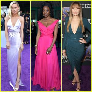 Brie Larson, Danai Gurira & Elizabeth Olsen Stun at 'Avengers: Endgame' Premiere!