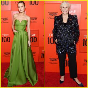 Brie Larson & Glenn Close Go Glam for Time 100 Gala 2019