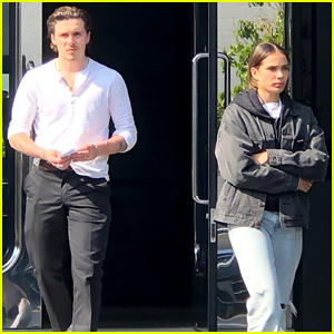 Brooklyn Beckham & Girlfriend Hana Cross Go Jewelry Shopping