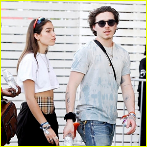 Brooklyn Beckham Couples Up with Hana Cross for Third Day of Coachella