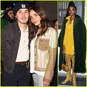 Brooklyn Beckham & Hana Cross Couple Up at Pat McGrath London Make-Up Launch Party!