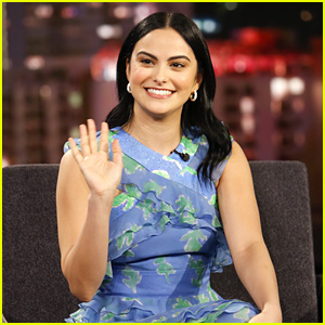 Camila Mendes Looks Back at her High School Yearbook - Watch!