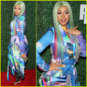 Cardi B Gets Honored at Swisher Sweets Awards in LA