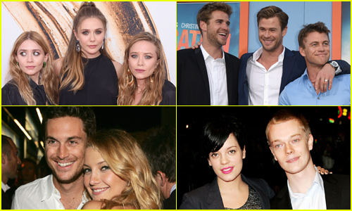 15 Celebrities Who Also Have Famous Siblings!