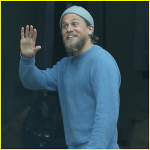 Charlie Hunnam Happily Greets Some Lucky Fans